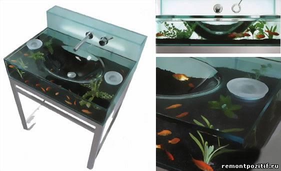 Сантехника и аквариум