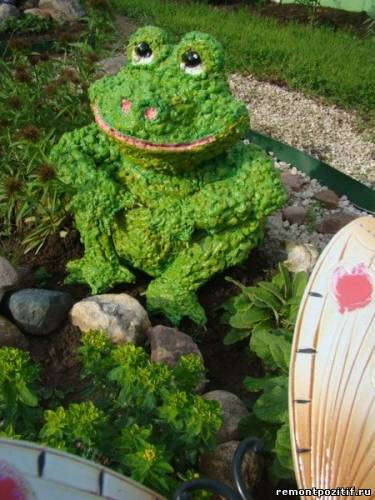 Изготовление садовых фигурок своими руками фото 839