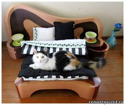 Кровать для животных своими руками