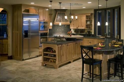 дизайн кухни столовой 2