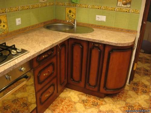 фасад кухонного гарнитура мдф