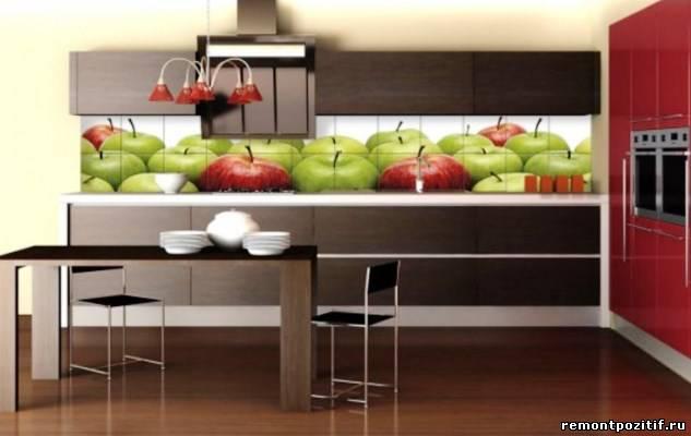 фруктовая тема на кухне
