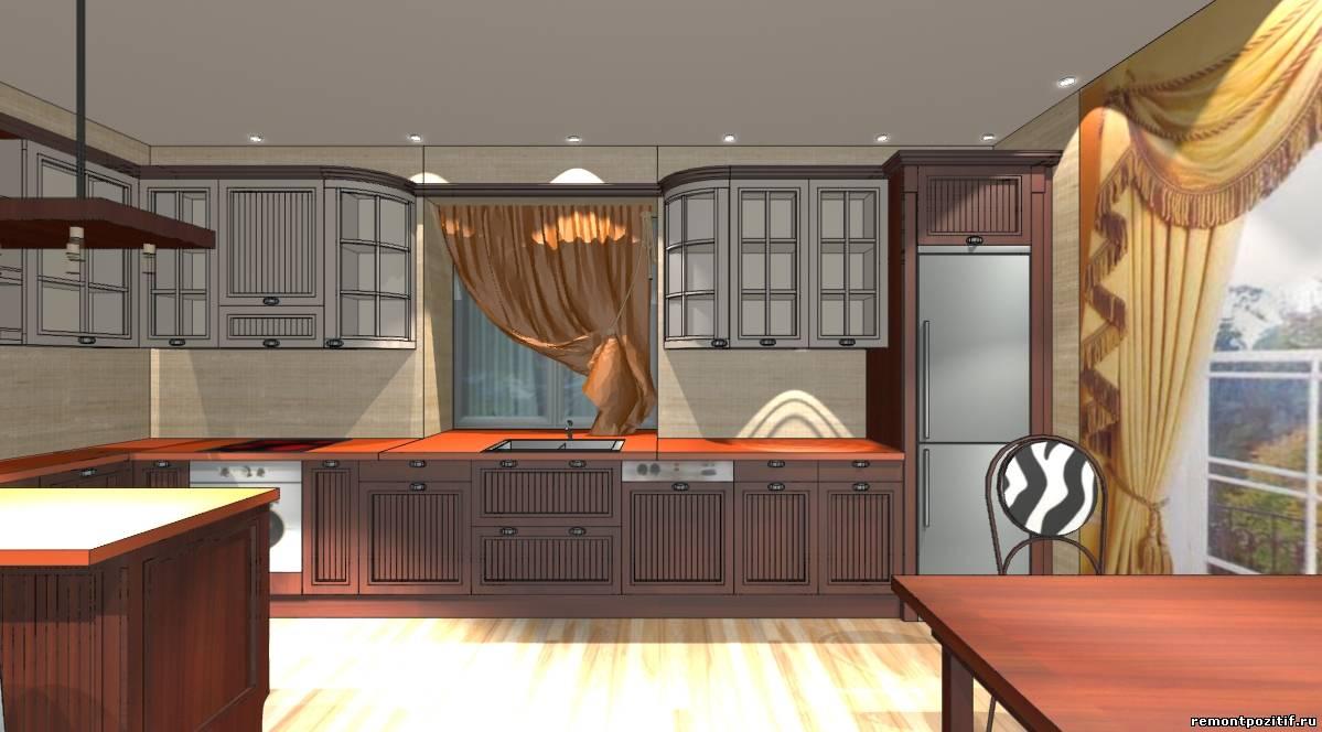 дизайн офиса фирмы по изготовлению кухонь на заказ