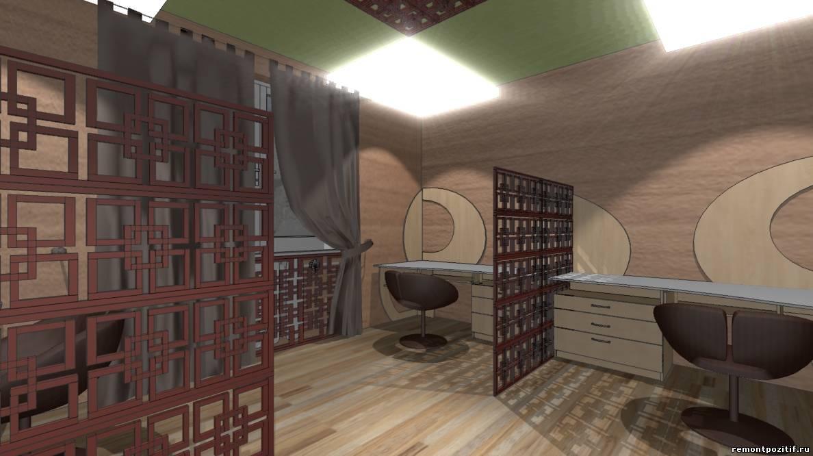 дизайн современного офиса для сотрудников