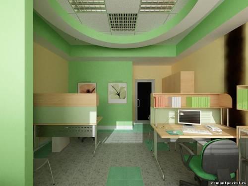 Дизайны комнаты в зеленом цвете