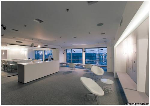 Холл офиса банка SIAB Premium Club