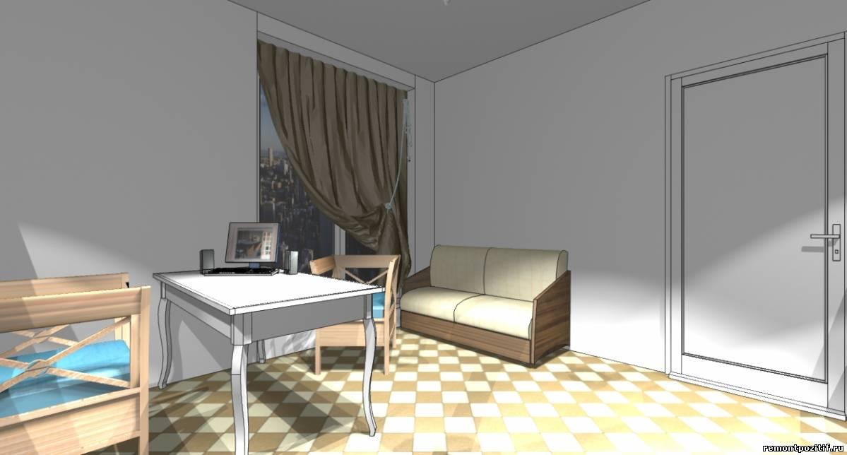 дизайн интерьера офиса продаж