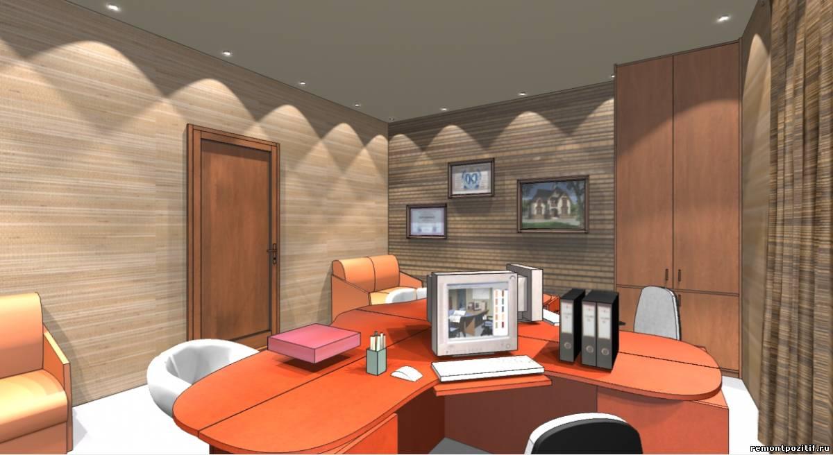 интерьер небольшого офиса компании