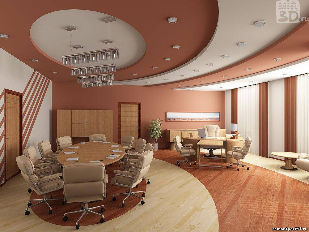 Дизайн в офисном помещении