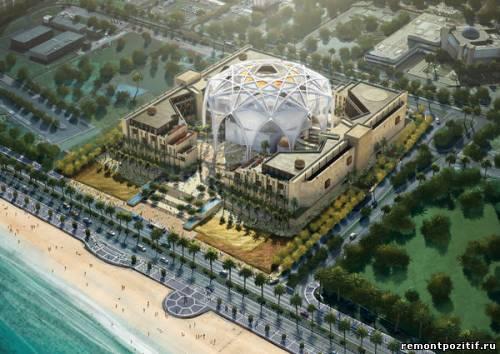 цветок пустыни новый проект для ОАЭ