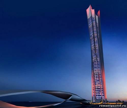 небоскреб wave tower