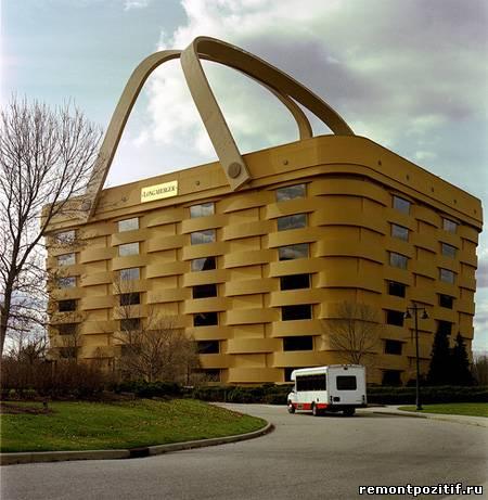 здание корзина в сша