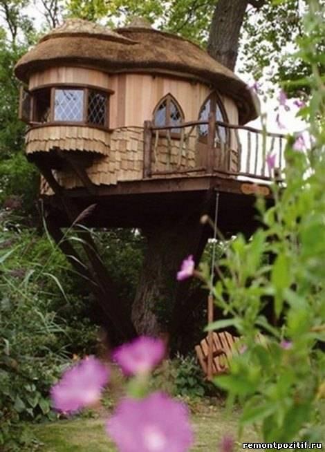 сказочный дом на дереве
