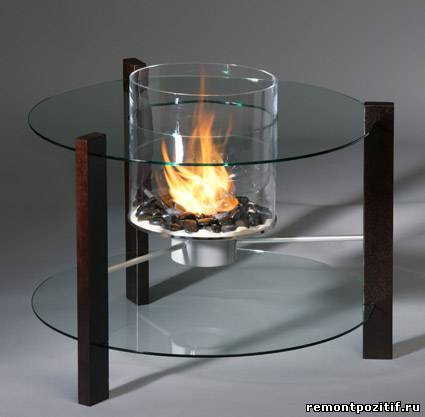 биокамин Glassfire