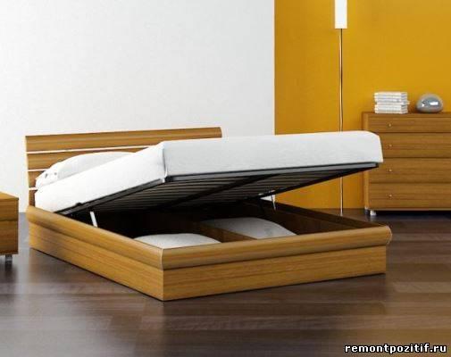 кровать с пультом управления