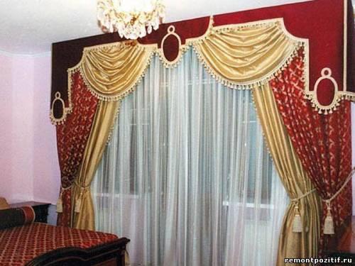 шторы барокко