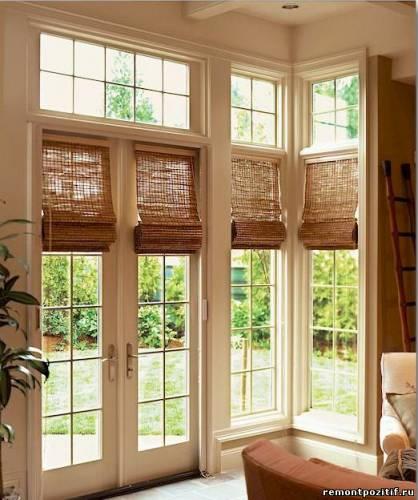 бамбуковые шторы нитяные шторы
