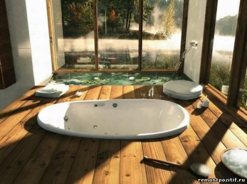 безопасные полы в ванной