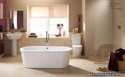 ванная островная планировка