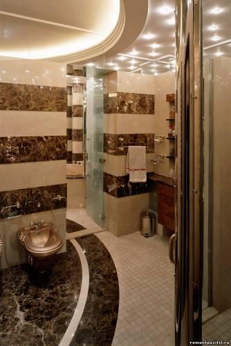 литокерамика в ванной