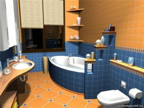 Ванная комната интерьер ванной
