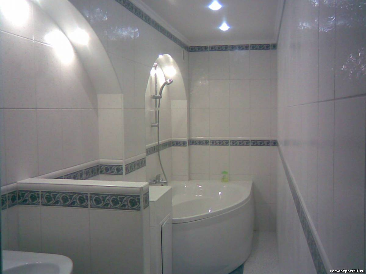 Дизайн ванной комнаты фото узкой