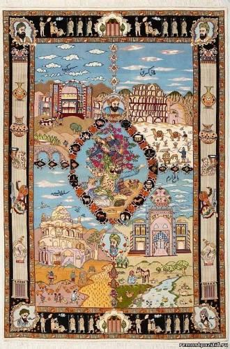 ковры ручной работы иранские