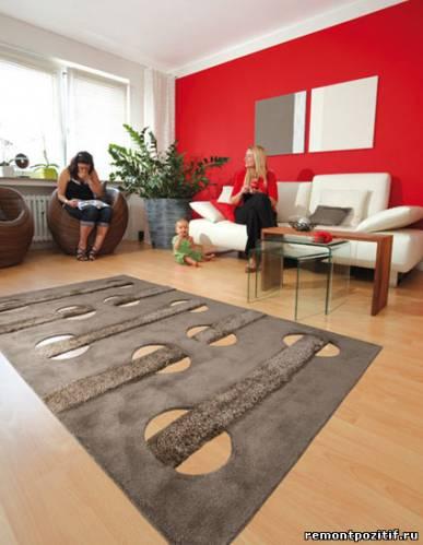 синтетические и натуральные ковры