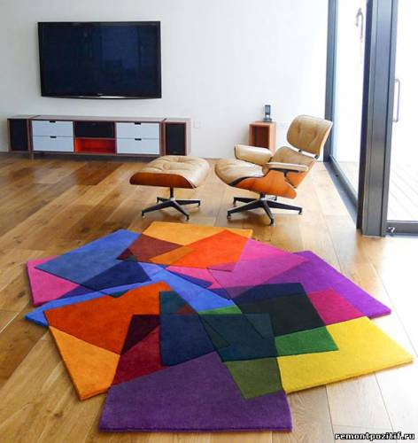 яркие ковры от Sonya Winner