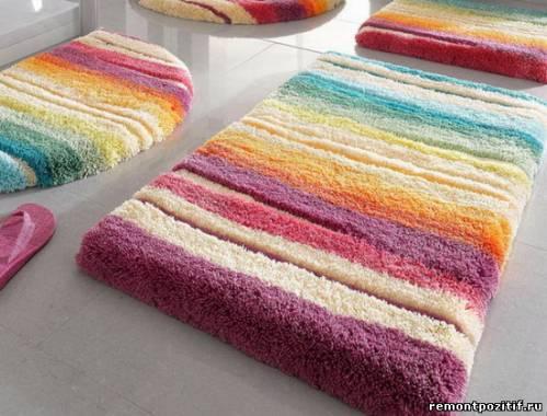 коврик для туалета и ванной
