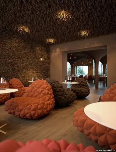 дизайн ресторана twister