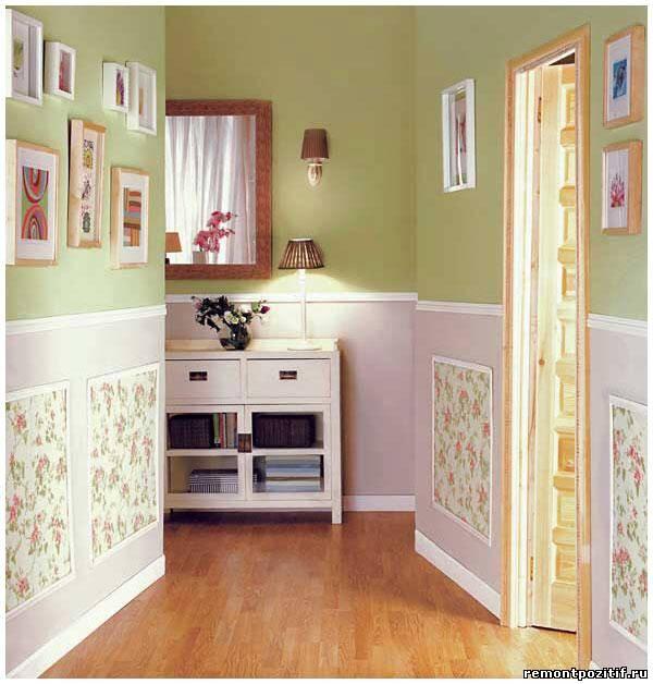 интерьер небольшого коридора в квартире