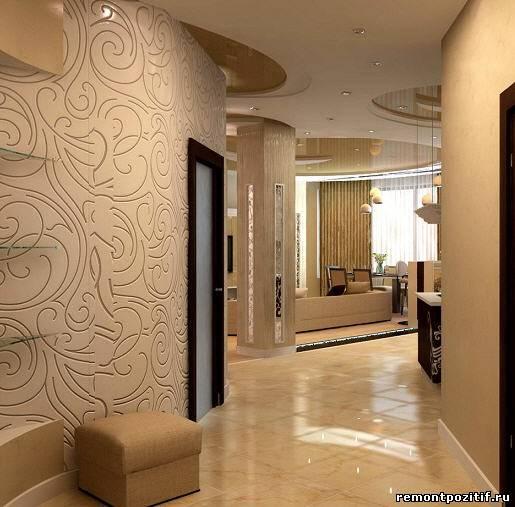 дизайн маленького коридора в квартире 1