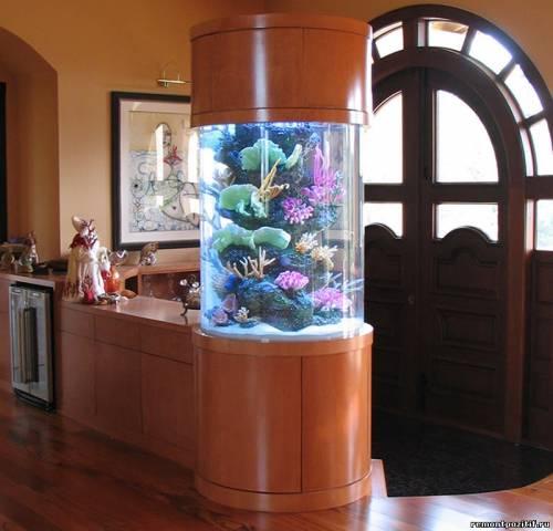 акваскейпинг в дизайне интерьера