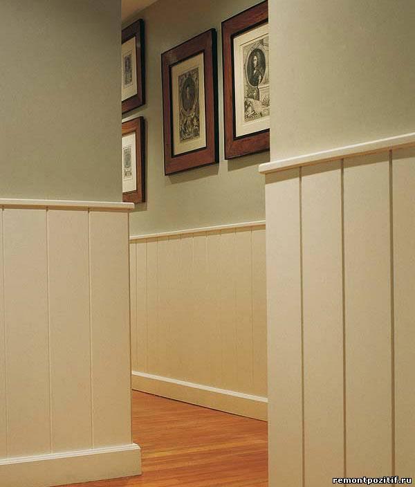 дизайн коридора в классическом стиле