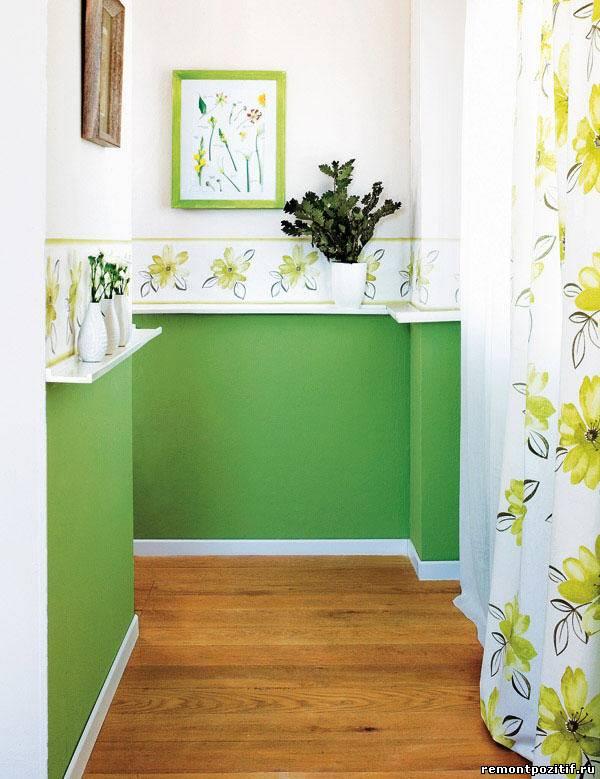 цветовое решение для маленького коридора в квартире