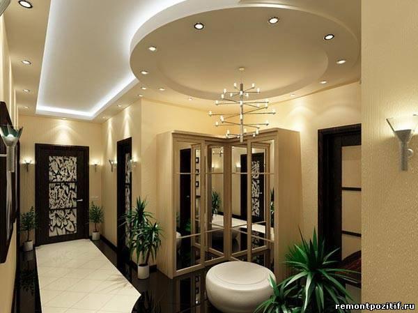 потолок в прихожей и коридоре