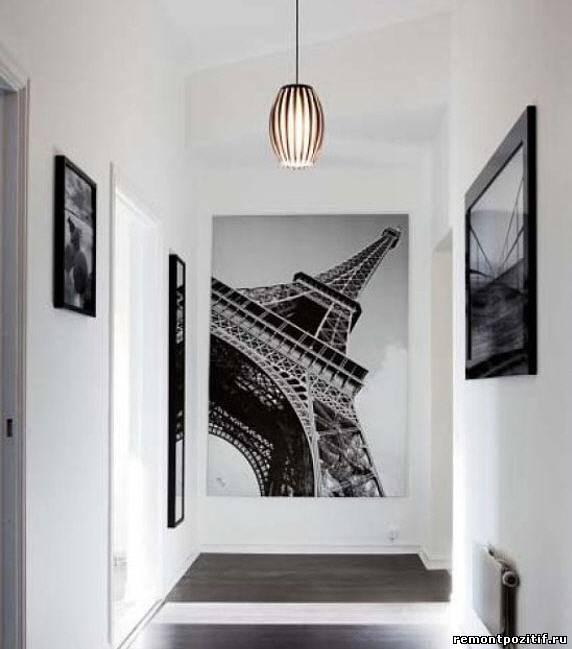 дизайн маленького коридора в стиле минимализм