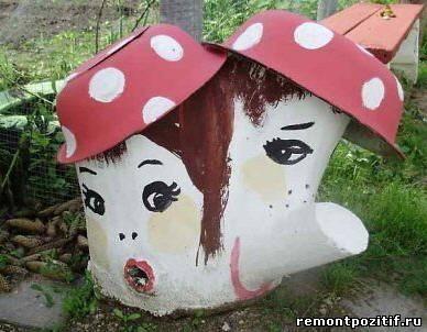 грибы из старых пней