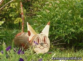 лавочка котенок на дачи