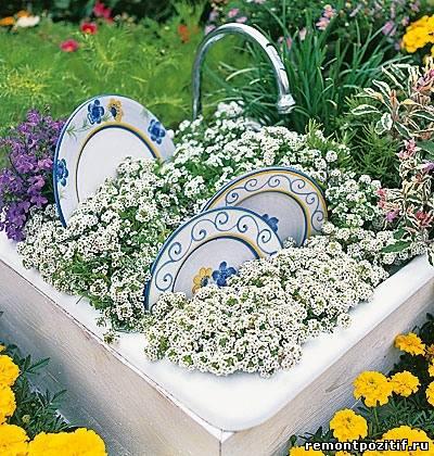 оригинальный контейнер для растений