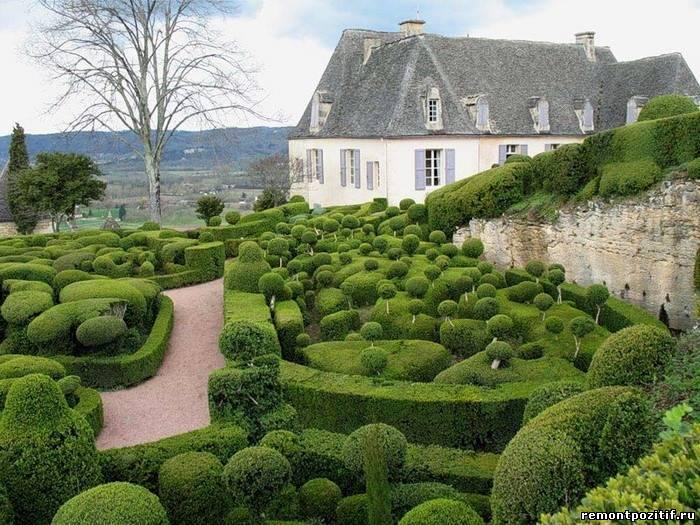 лабиринт садовый