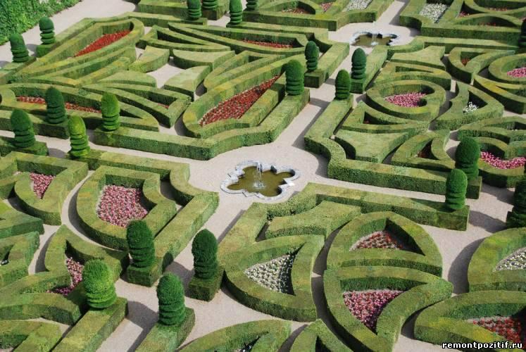 как сделать лабиринт в саду