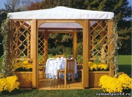 садовая мебель для беседки