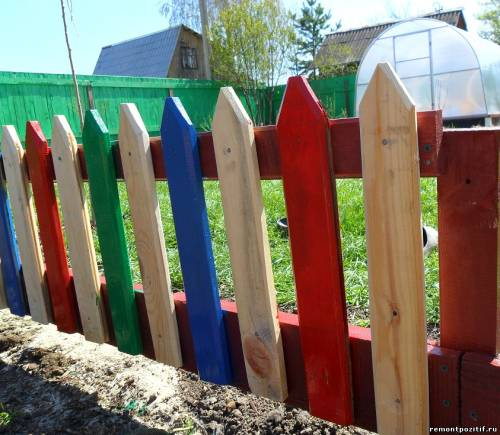 Столбики на забор своими руками