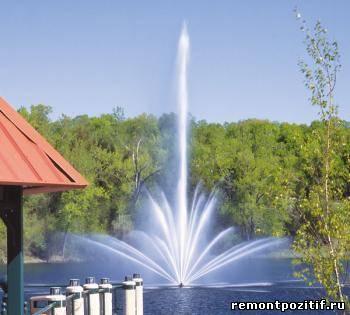 конструкции фонтанов