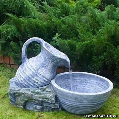 Как сделать воду из кувшина