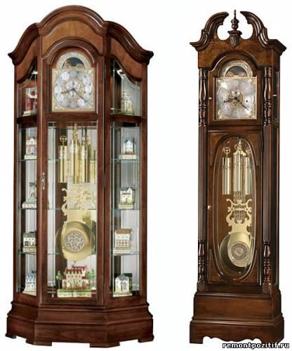 часы напольные в интерьере