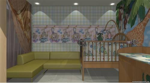 детская комната и спальня