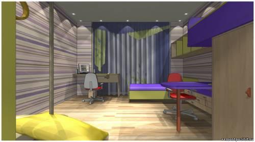 дизайн комнаты для 2 детей